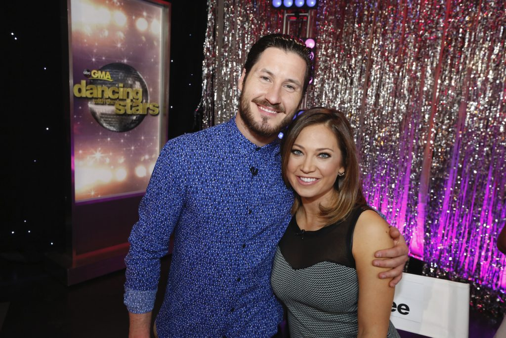 Val Chmerkovskiy of 'Dancing with the Stars' and Ginger Zee of 'Good Morning America'