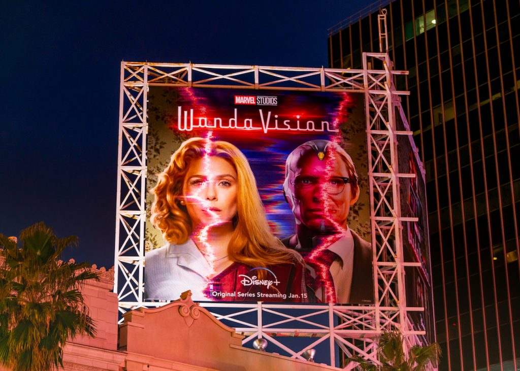 WandaVision Marvel Billboard