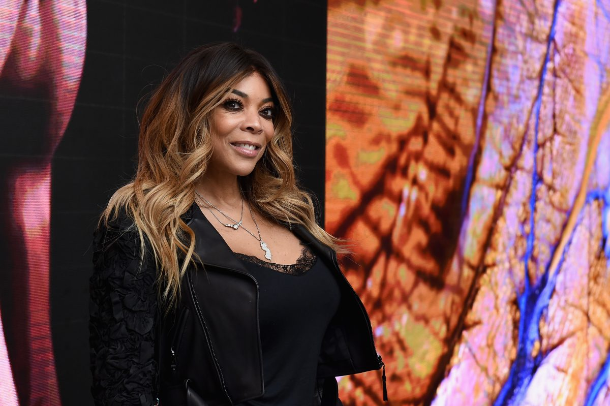 Wendy Williams poses at an event.