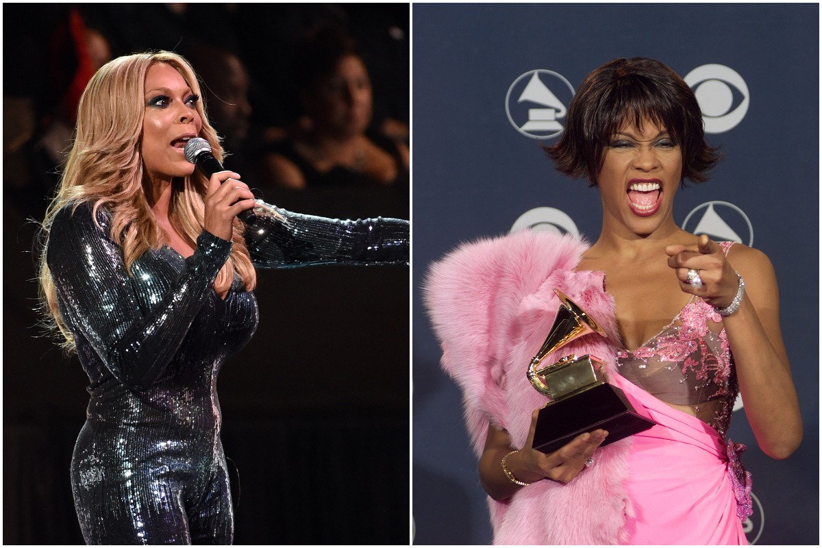Wendy Williams hosting the Soul Train Awards/Whitney Houston at the Grammy Awards.