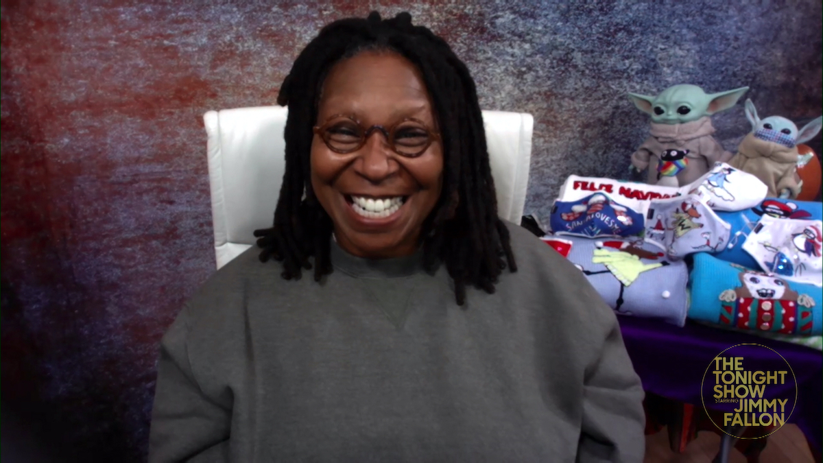 Whoopi Goldberg on 'The Tonight Show with Jimmy Fallon'