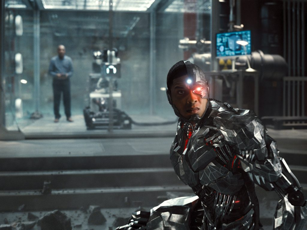 Zack Snyder's Justice League Cyborg in STAR Labs