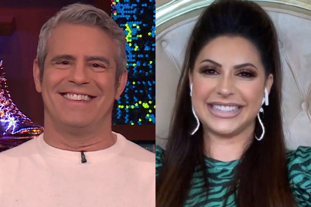 Andy Cohen and Jennifer Aydin
