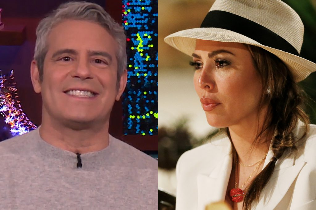 Andy Cohen and Kelly Dodd