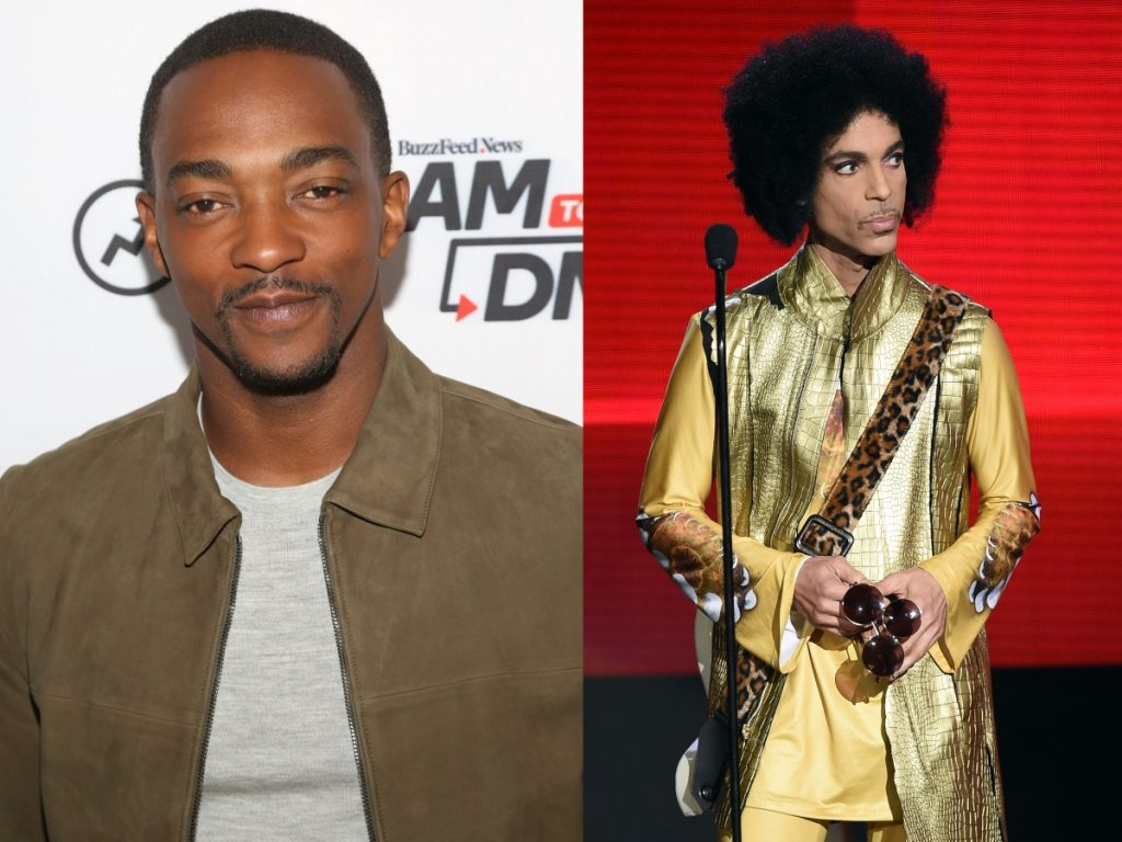 Anthony Mackie and Prince