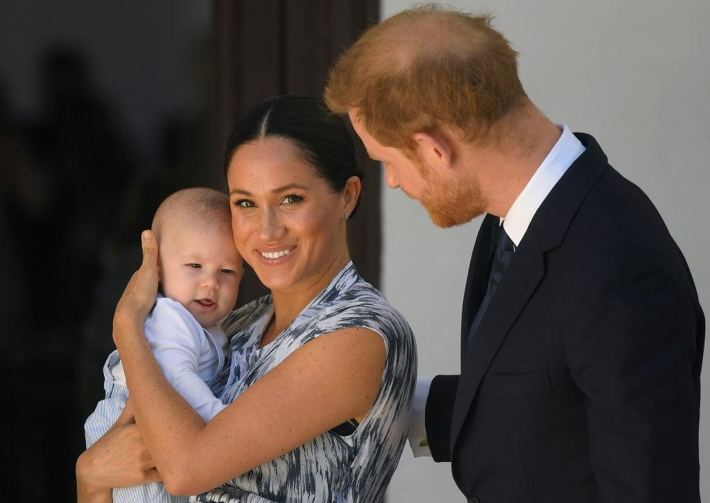 Archie, Meghan, and Harry
