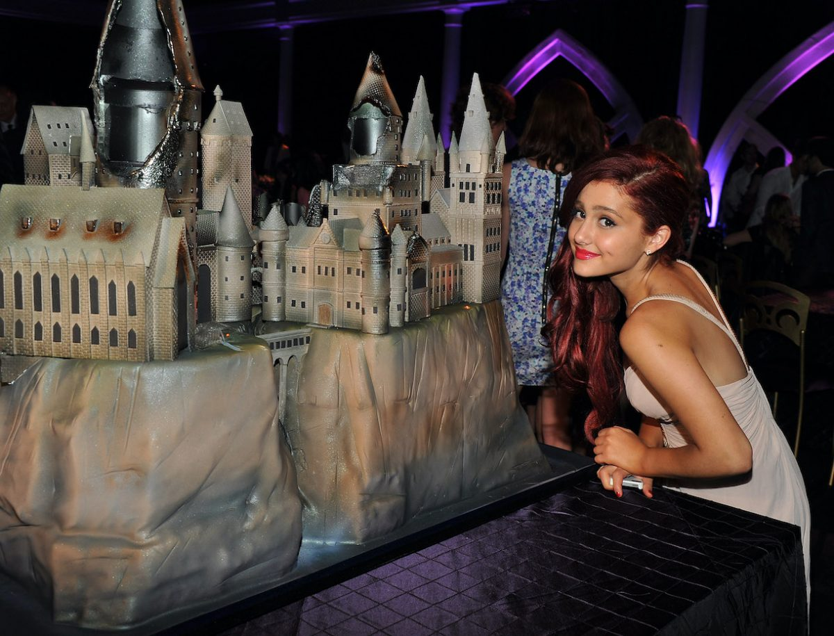 Ariana Grande attends the New York premiere of 'Harry Potter And The Deathly Hallows: Part 2' in 2011