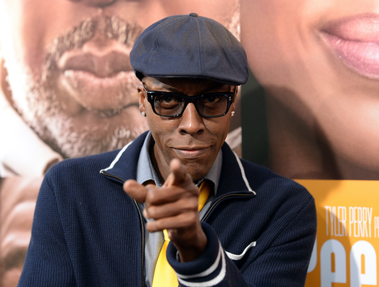 """Arsenio Hall arrives at the premiere of """"Peeples"""" presented by Lionsgate Film and Tyler Perry"""