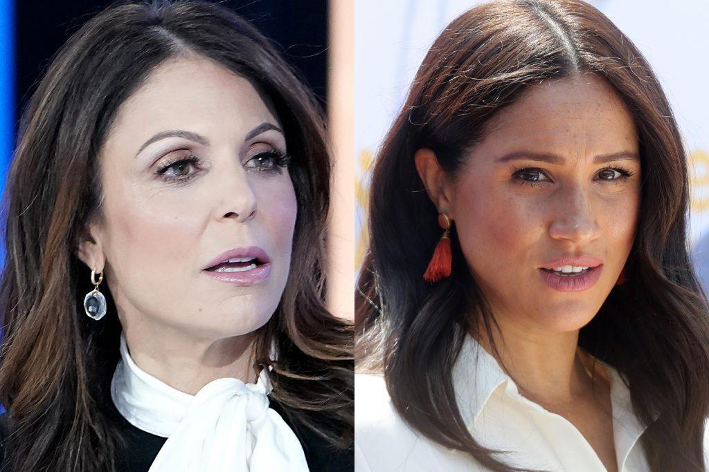 Bethenny Frankel and Meghan Markle