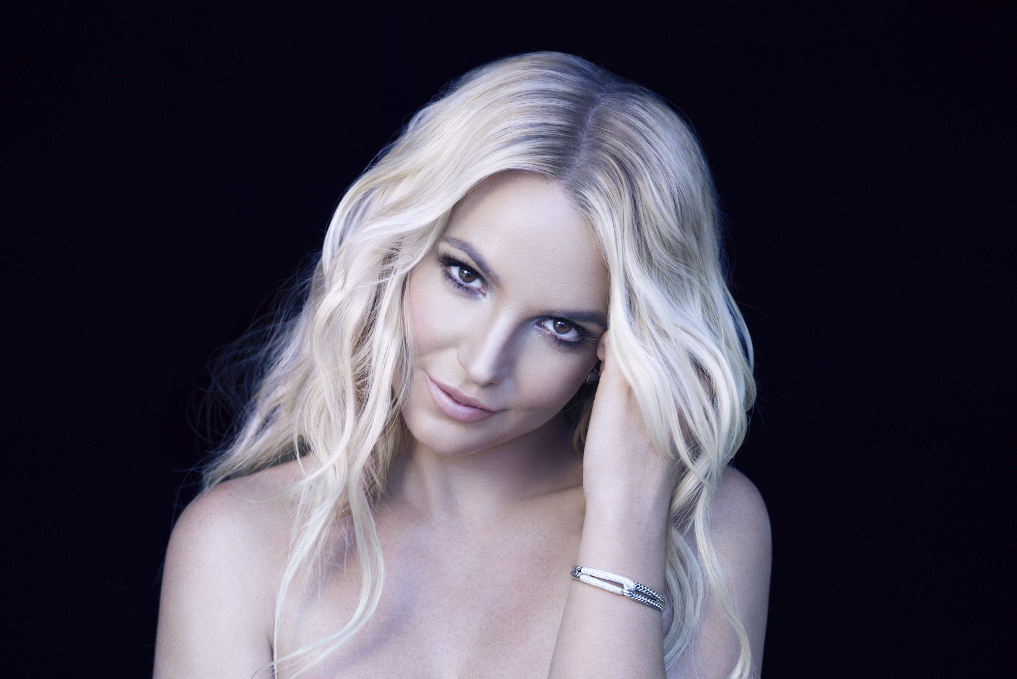 """Britney Spears in a promo image for the documentary """"I Am Britney Jean"""""""