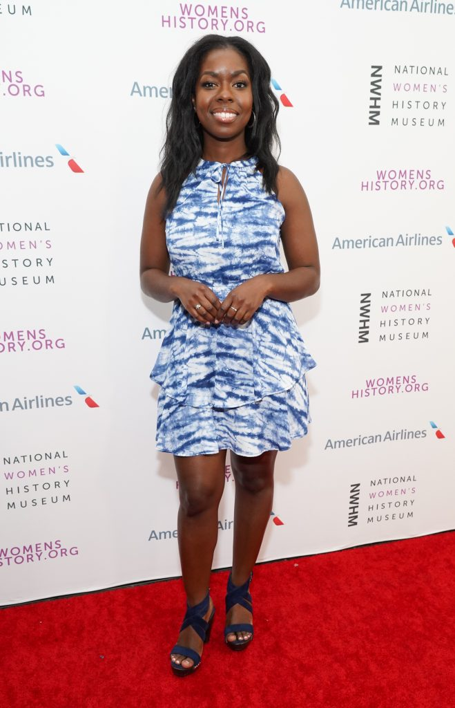 Camille Winbush on the red carpet