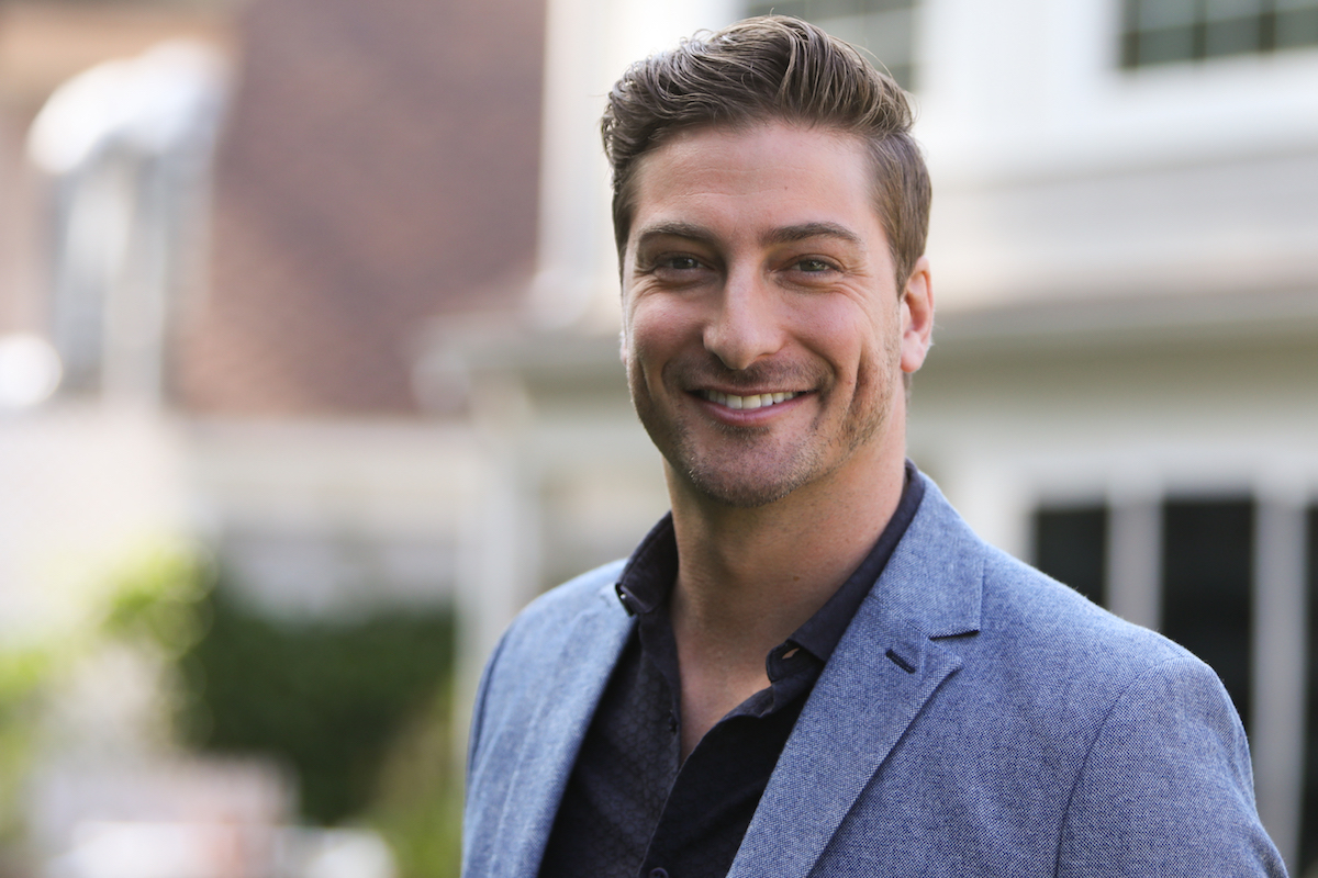 Daniel Lissing visits Hallmark's Home and Family