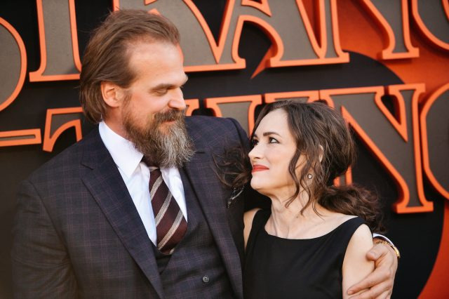 'Stranger Things': David Harbour Says He and Winona Ryder Are 'Like an Old Married Couple'