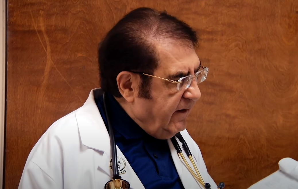 My 600-Life: Dr. Now reads his diet plan do a patient