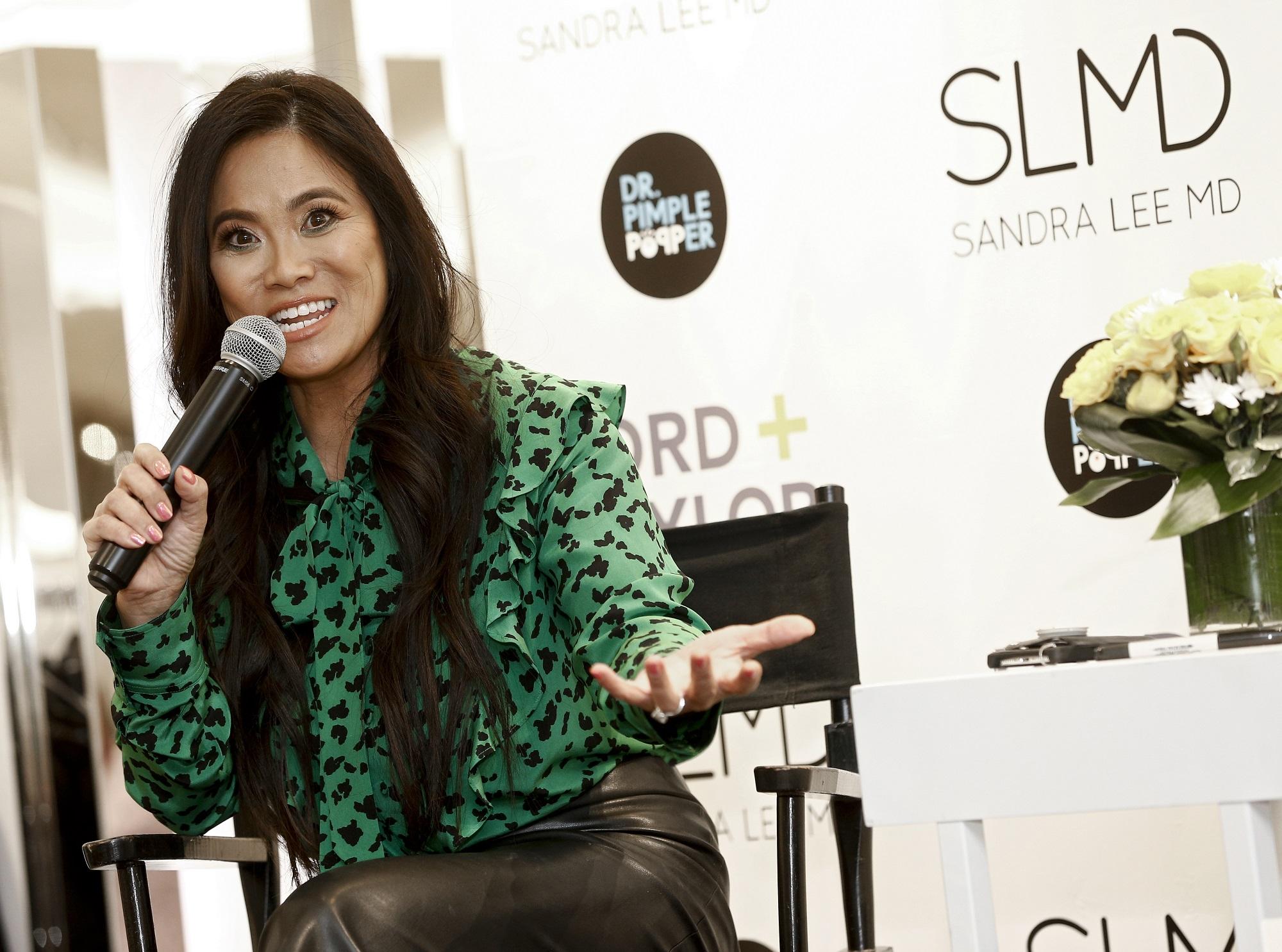 Dr. Sandra Lee, star of Dr. Pimple Popper
