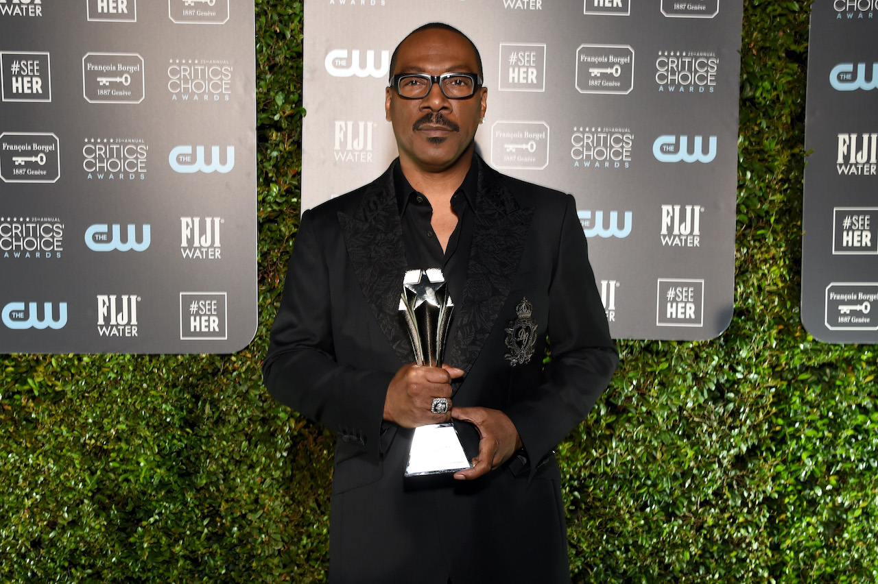 Eddie Murphy Lifetime Achievement Award attends the 25th Annual Critics' Choice Awards at Barker Hangar