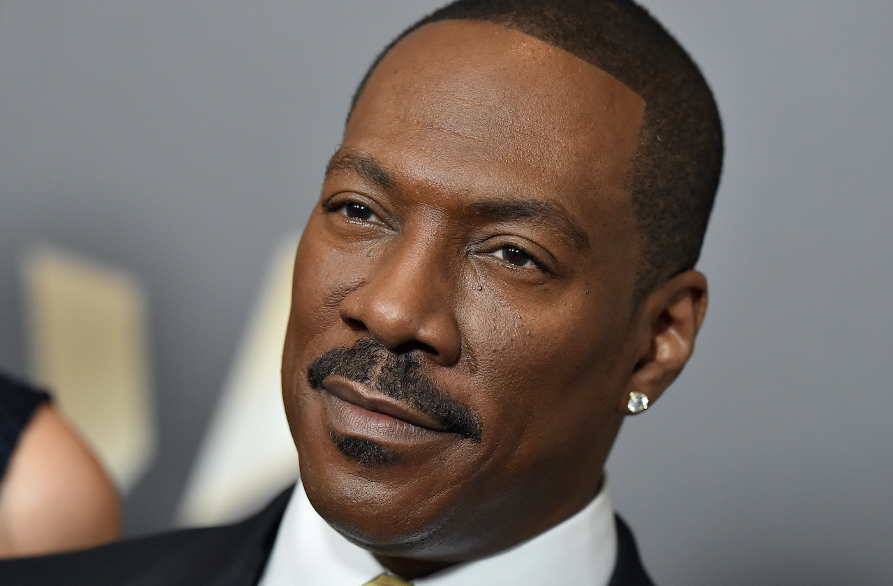 Eddie Murphy arrives at the 20th Annual Hollywood Film Awards at the Beverly Hilton Hotel