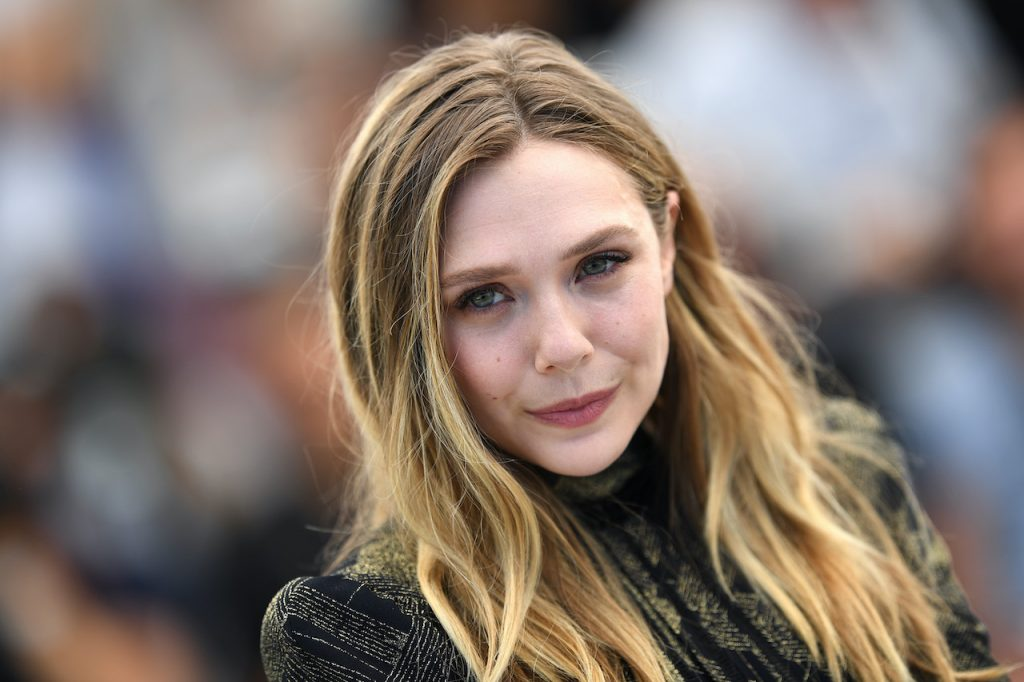"""Elizabeth Olsen attends the """"Wind River"""" photocall during the 70th annual Cannes Film Festival"""