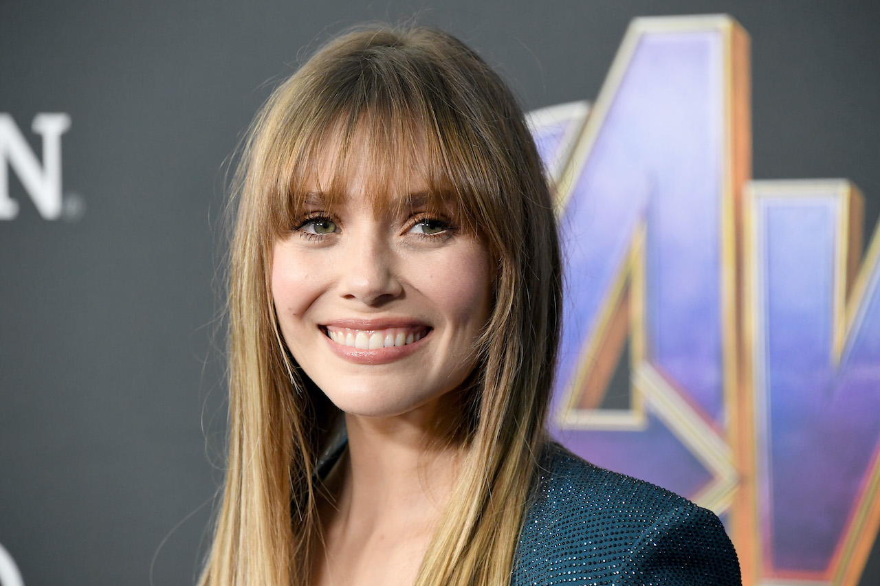"Elizabeth Olsen attends the world premiere of Walt Disney Studios Motion Pictures ""Avengers: Endgame"""