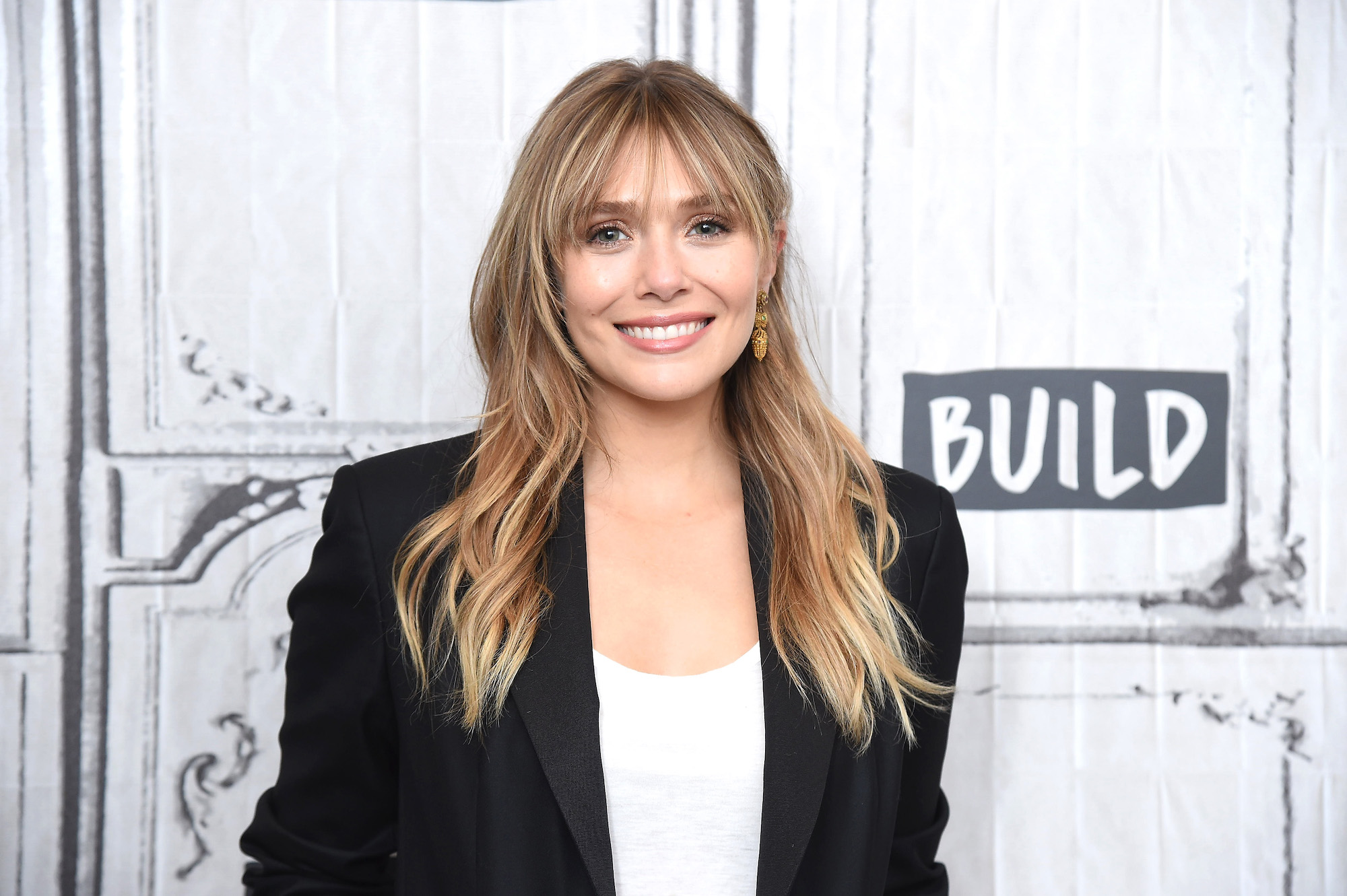 Elizabeth Olsen at the Build Series to discuss the Facebook Watch Original Series 'Sorry for Your Loss' Season on Oct. 08, 2019