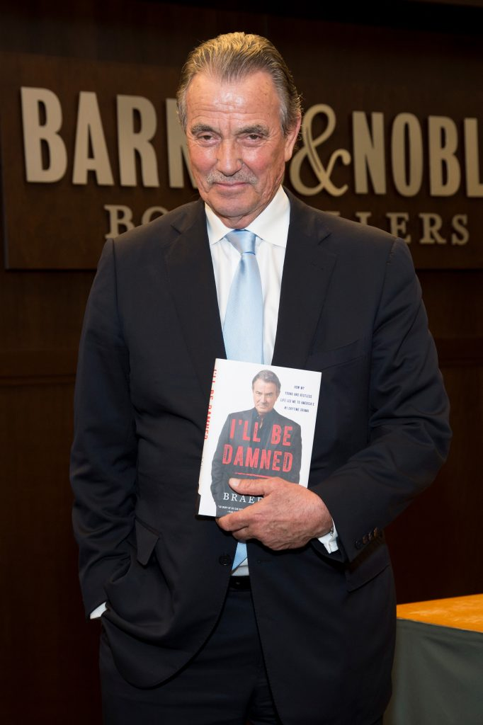 Eric Braeden at a book signing