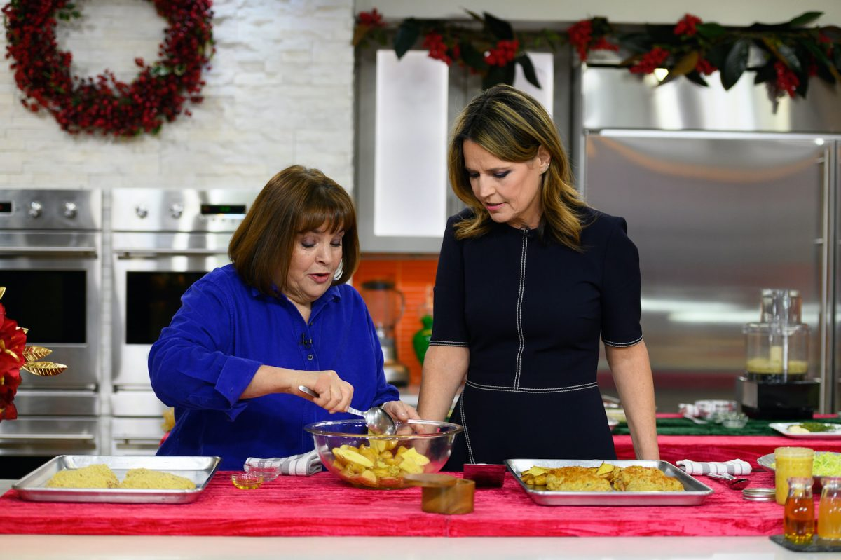 'Barefoot Contessa' Star Ina Garten and Savannah Guthrie on the 'Today' show