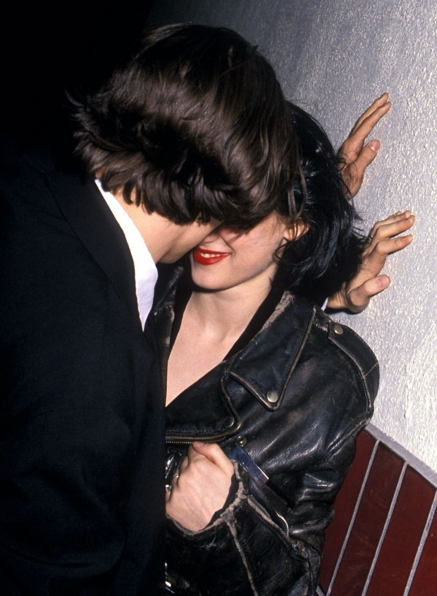 Actor Johnny Depp and actress Winona Ryder in 1990