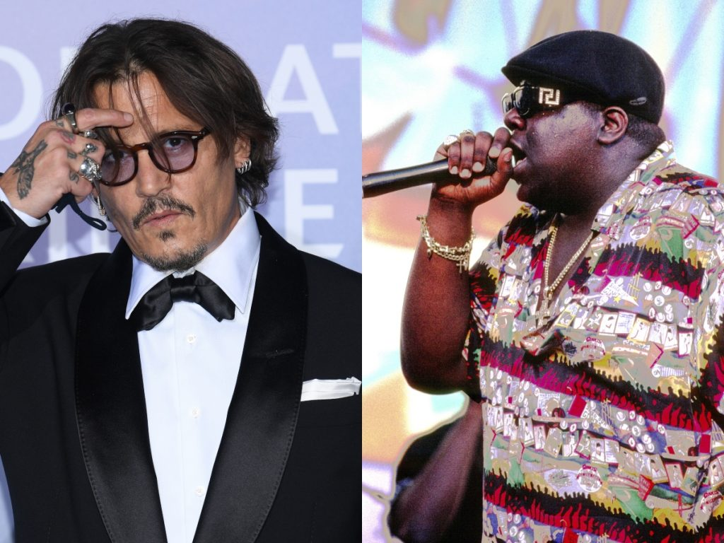 Johnny Depp, Notorious B.I.G.
