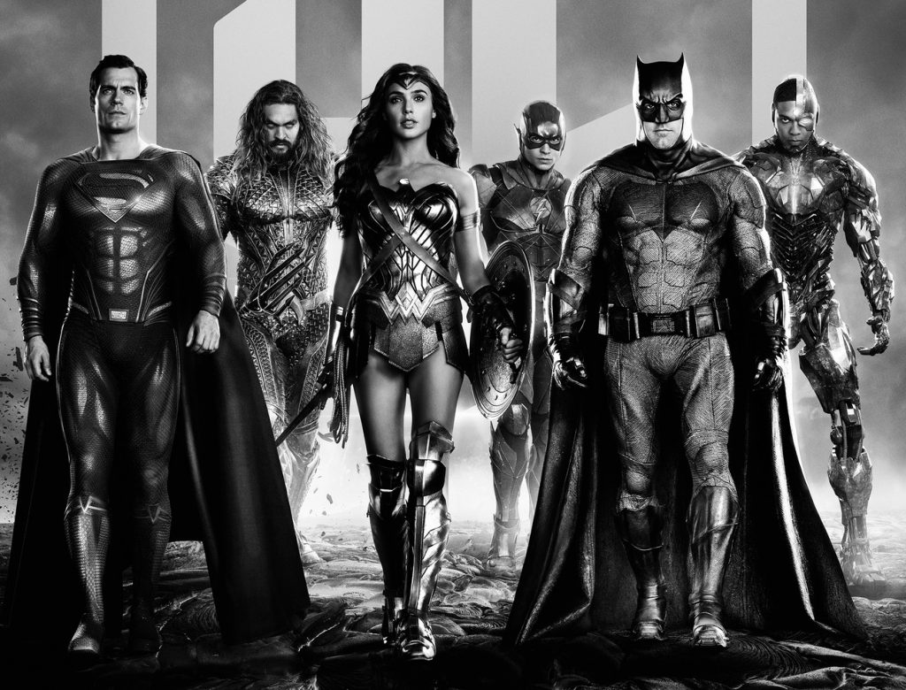 The heroes of 'Zack Snyder's Justice League.'