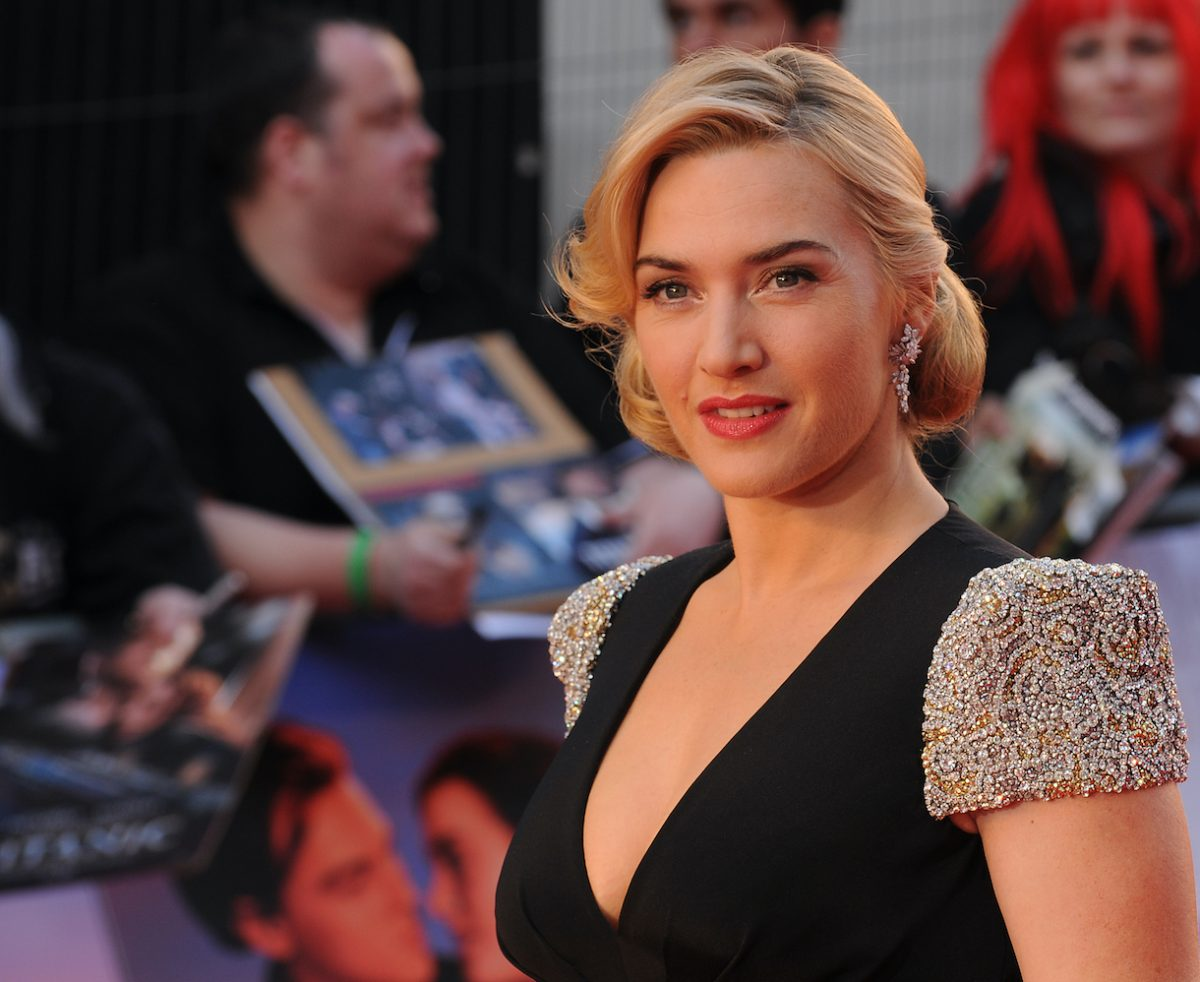 Kate Winslet attends the world premiere of 'Titanic 3D' at Royal Albert Hall on March 27, 2012 in London, England