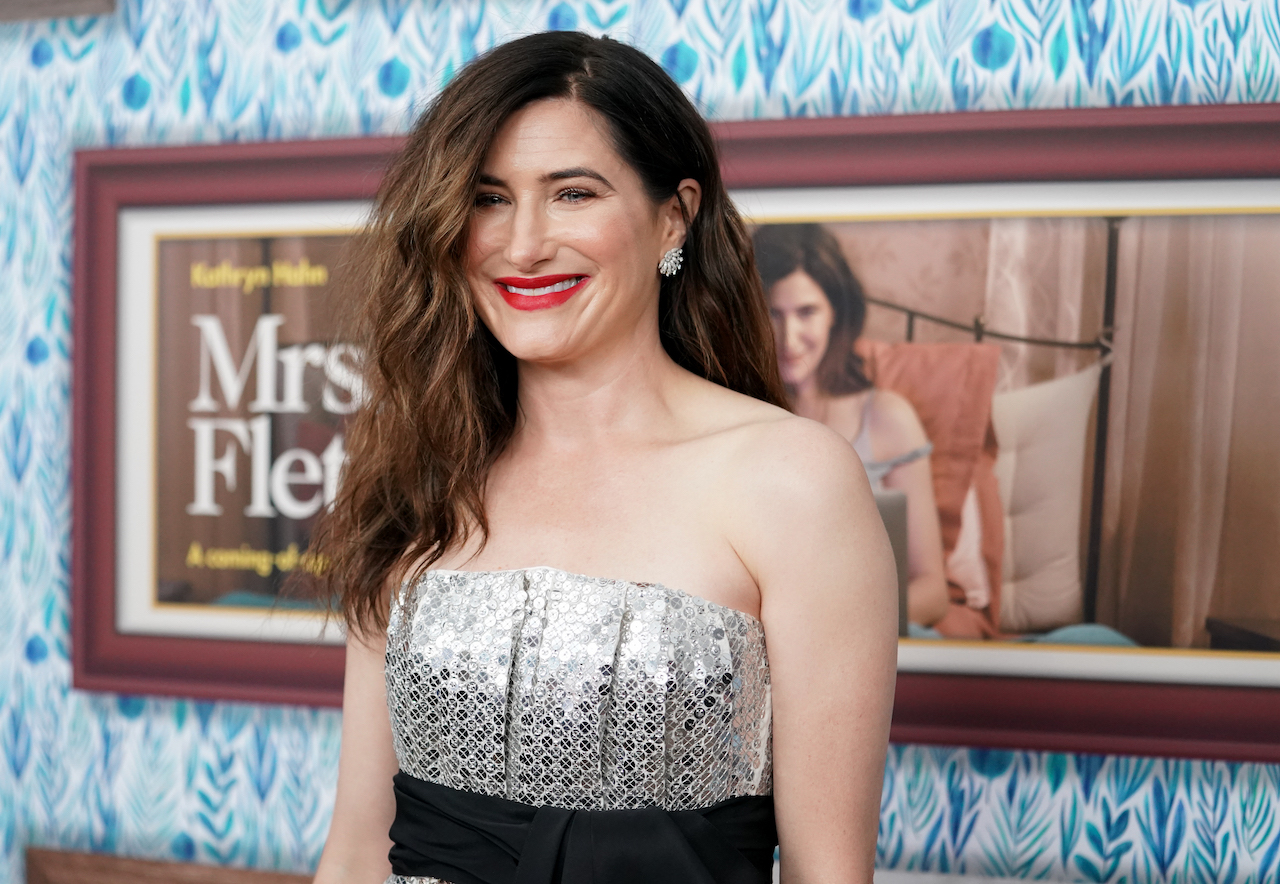 """Kathryn Hahn attends the premiere of HBO's """"Mrs. Fletcher"""" at Avalon Hollywood"""