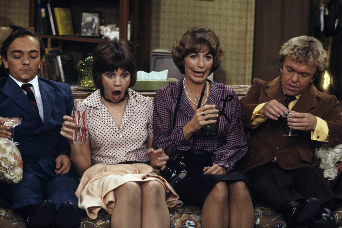 Jimmy Biscoe, Cindy Williams, Penny Marshall, Tommy Madden