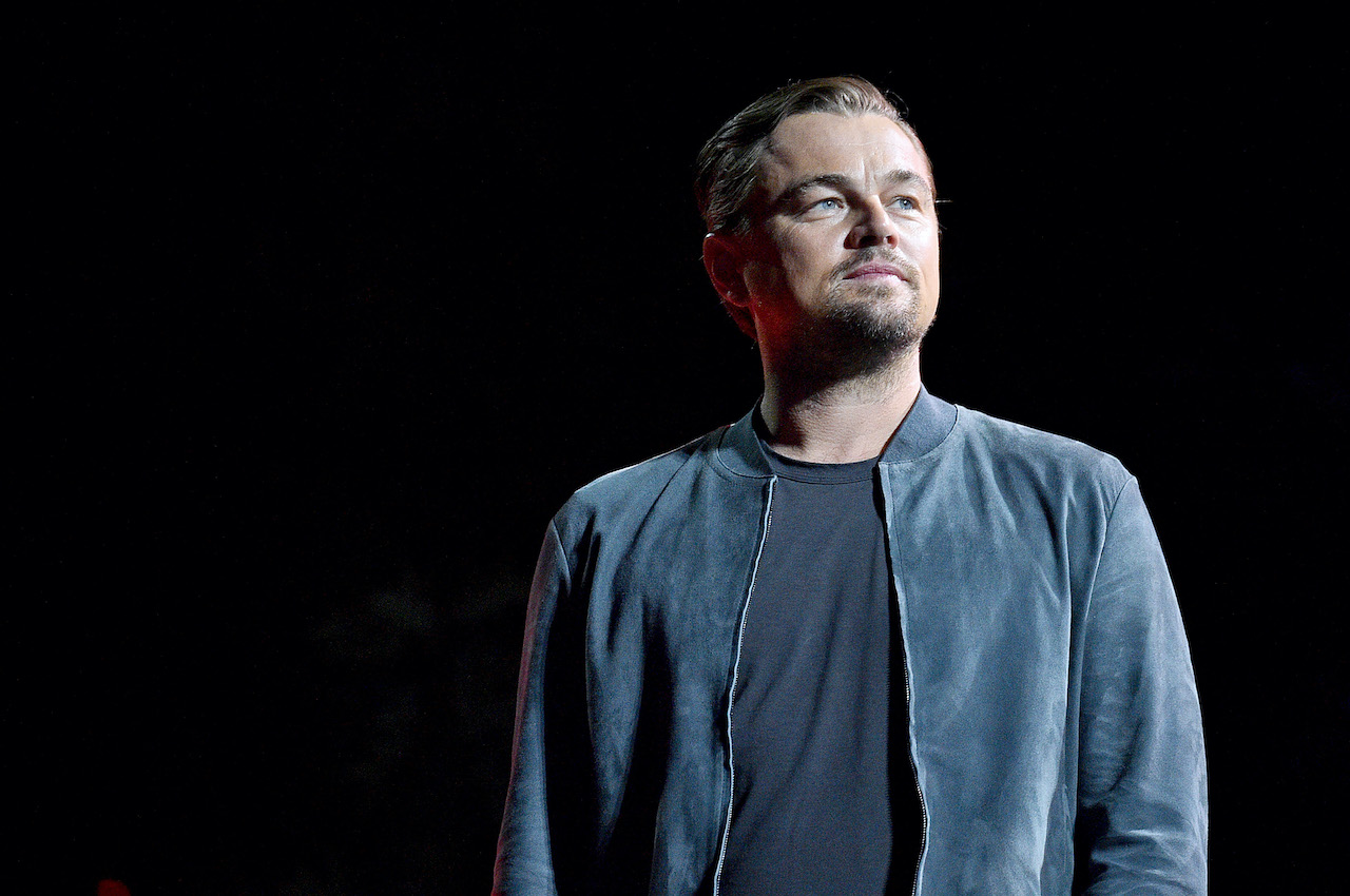 Leonardo DiCaprio speaks onstage during the 2019 Global Citizen Festival: Power The Movement in Central Park