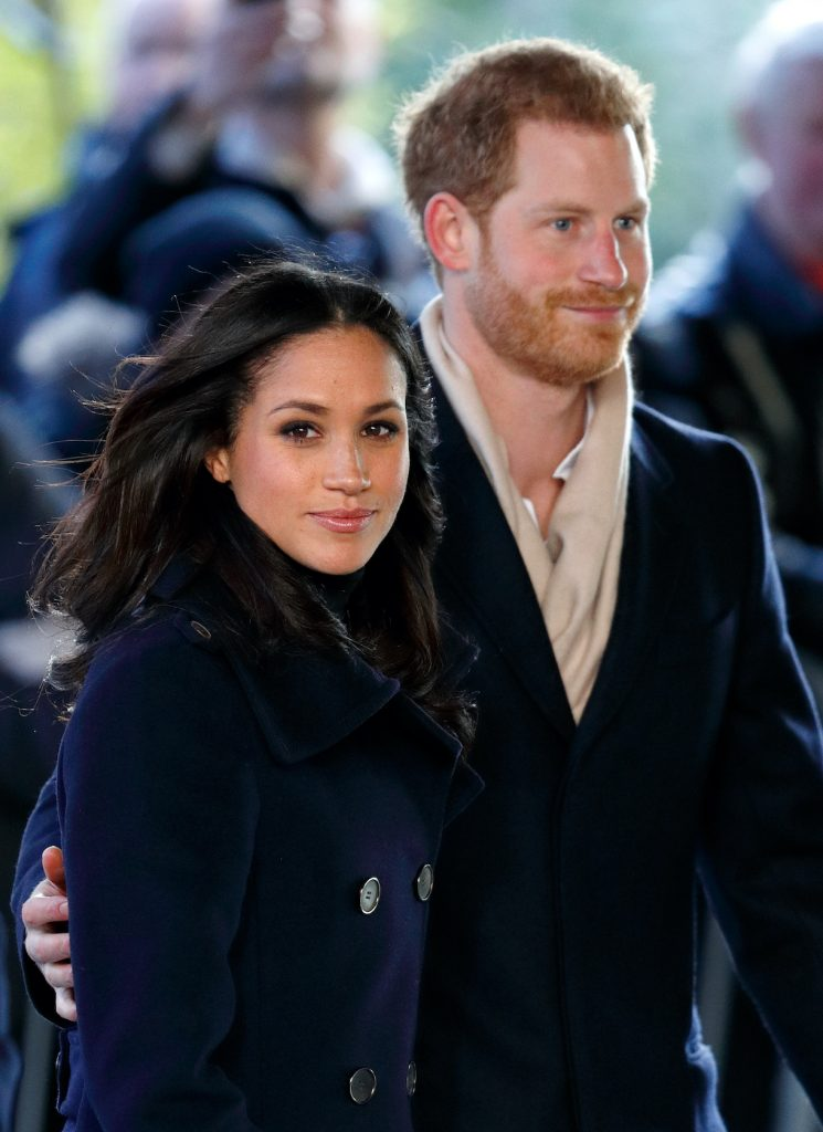 Meghan Markle and Prince Harry in Nottingham, England