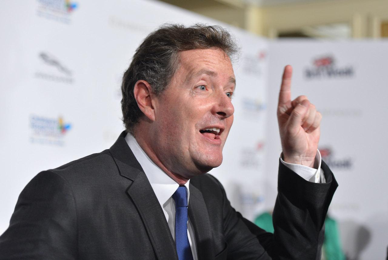 "Piers Morgan arrives to BritWeek 2012's ""Evening with Piers Morgan"""