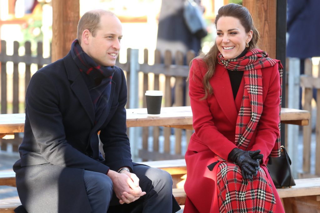 Prince William and Kate Middleton visit Cardiff Castle on December 8, 2020