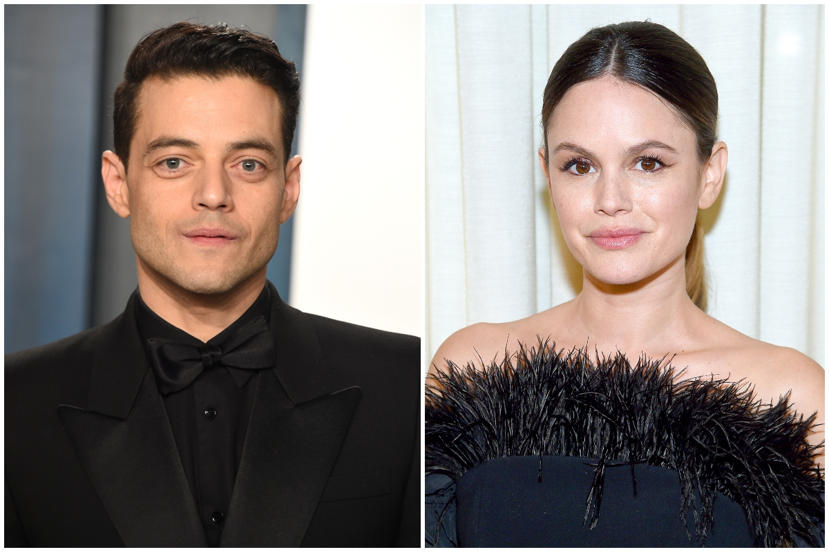 Composite image of Rami Malek and Rachel Bilson