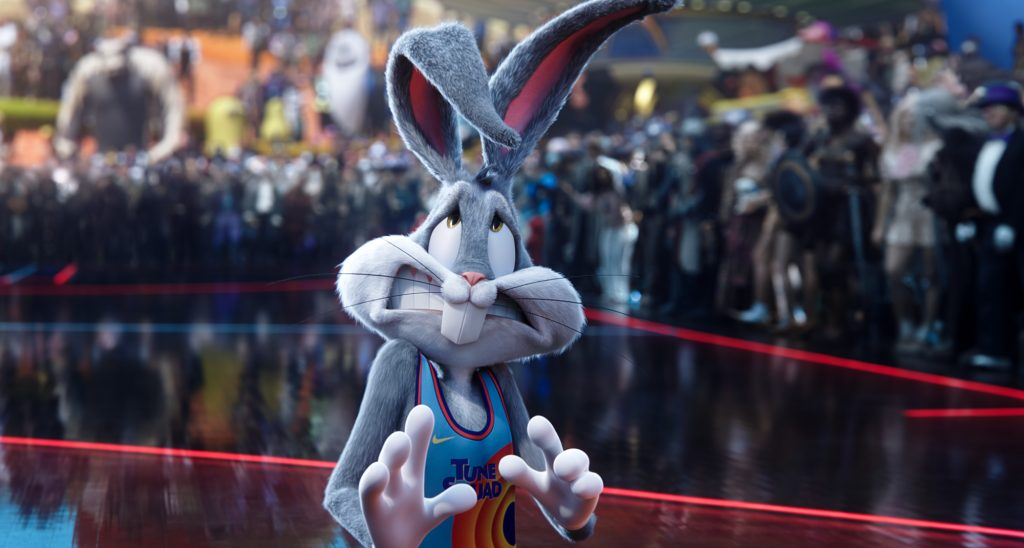 Bugs Bunny won't be joined by Pepe Le Pew in 'Space Jam: A New Legacy.'