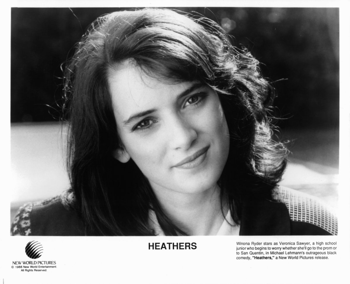 Winona Ryder starring in the film 'Heathers', 1988