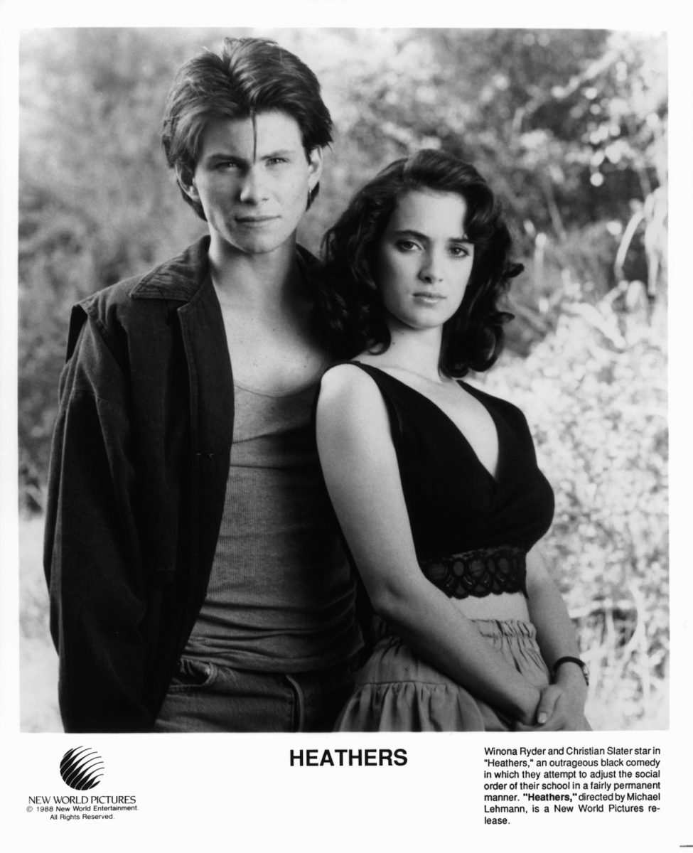 Christian Slater And Winona Ryder In 'Heathers'
