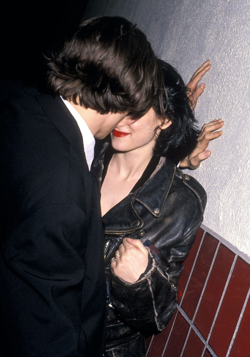 Johnny Depp and actress Winona Ryder