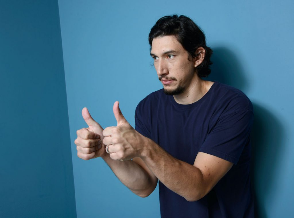 Adam Driver, who once couldn't stop laughing on the set of 'Girls'