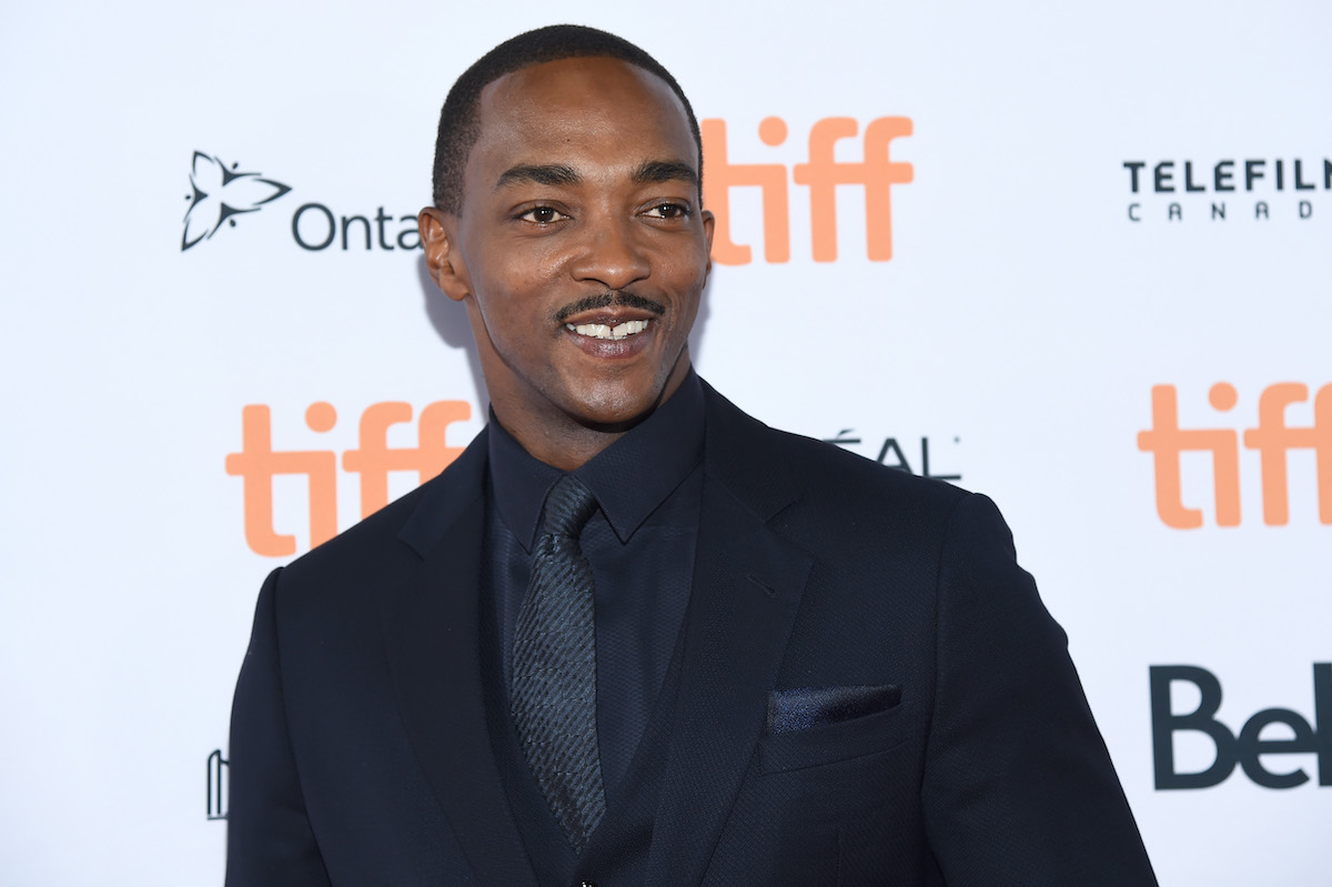 Anthony Mackie attends the 'Seberg' premiere during the 2019 Toronto International Film Festival in Toronto
