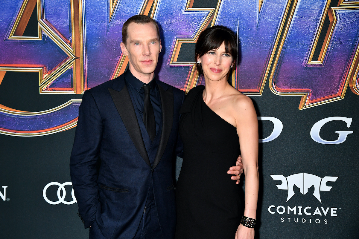 Benedict Cumberbatch and Sophie Hunter at the 'Avengers: Endgame' premiere
