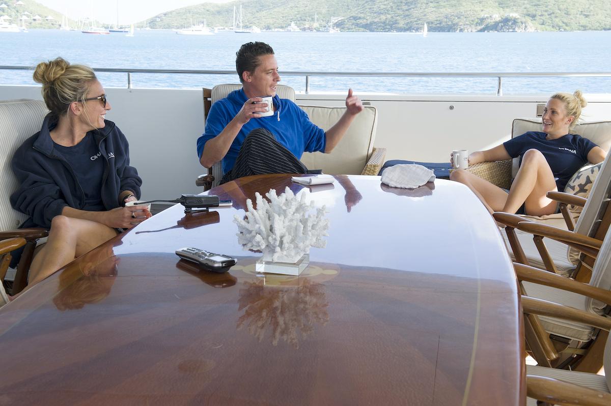 Kate Chastain, Ben Robinson, Kat Held on Below Deck