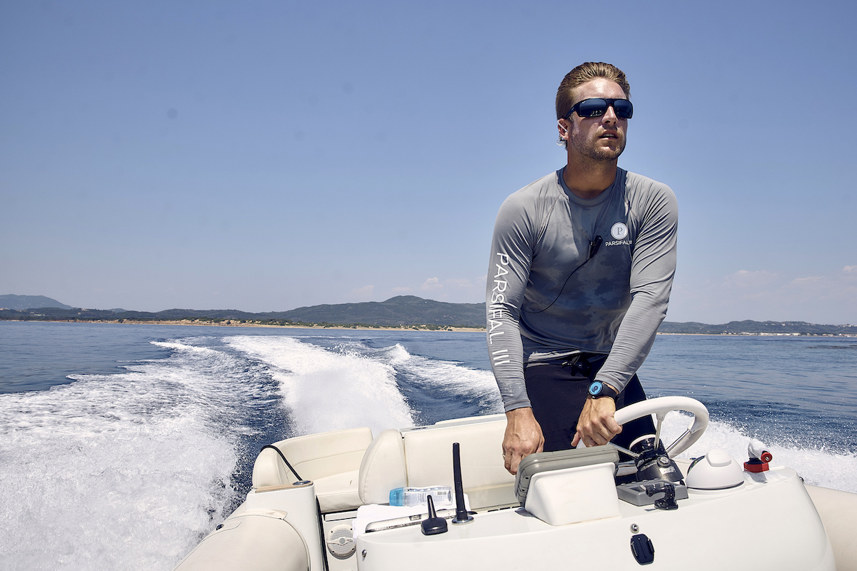 Parker McCown from Below Deck Sailing Yacht