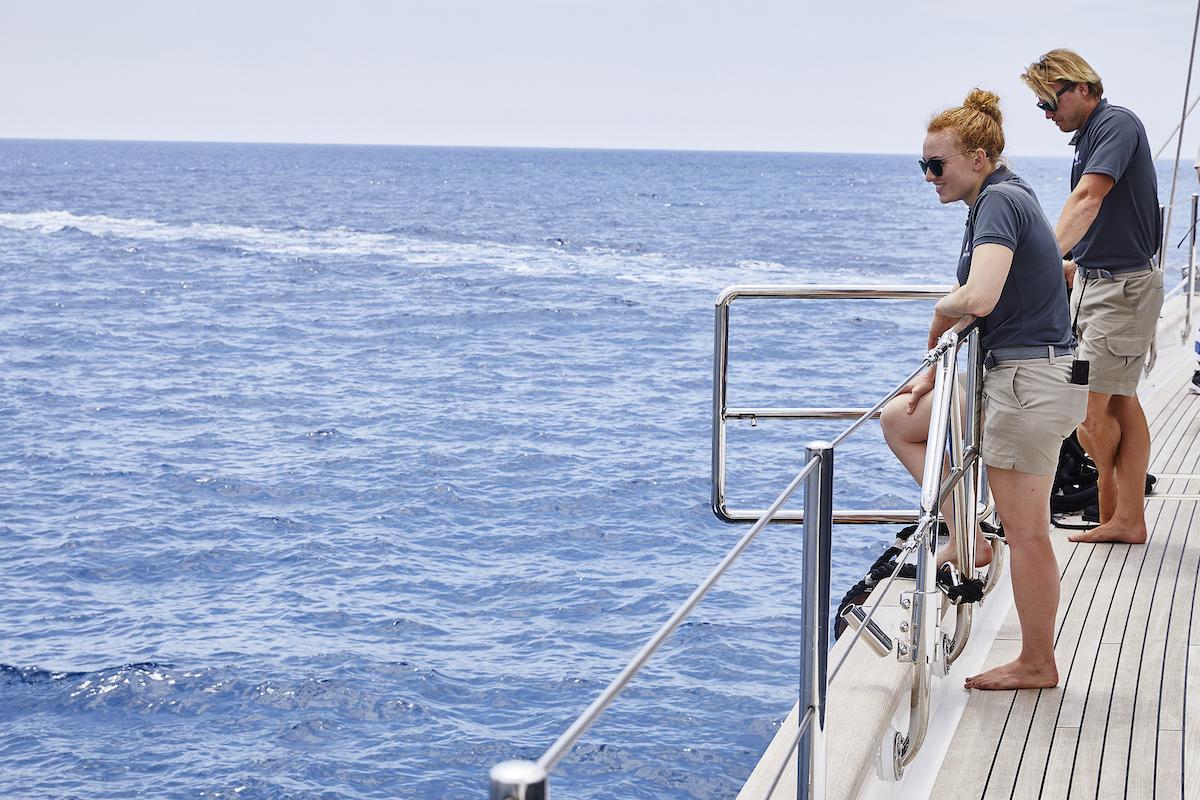 Ciara Duggan, Paget Berry on Below Deck Sailing Yacht