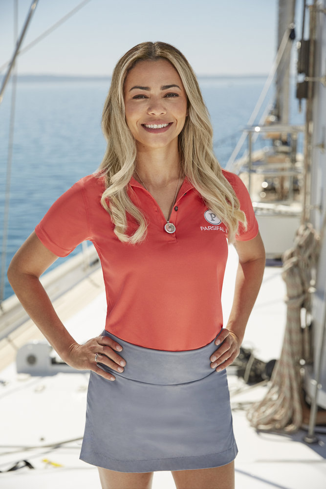 Daniele Soares from Below Deck Sailing Yacht