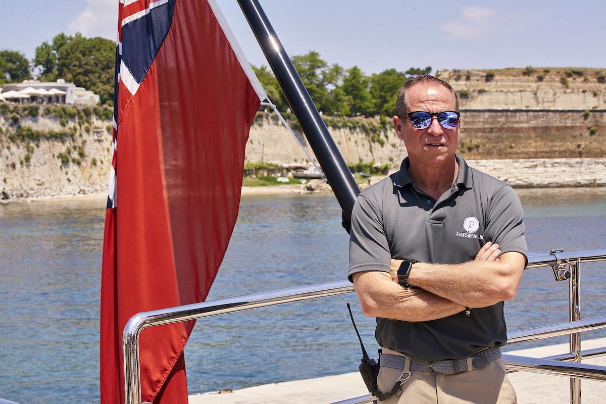 Captain Glenn Shephard from Below Deck Sailing Yacht