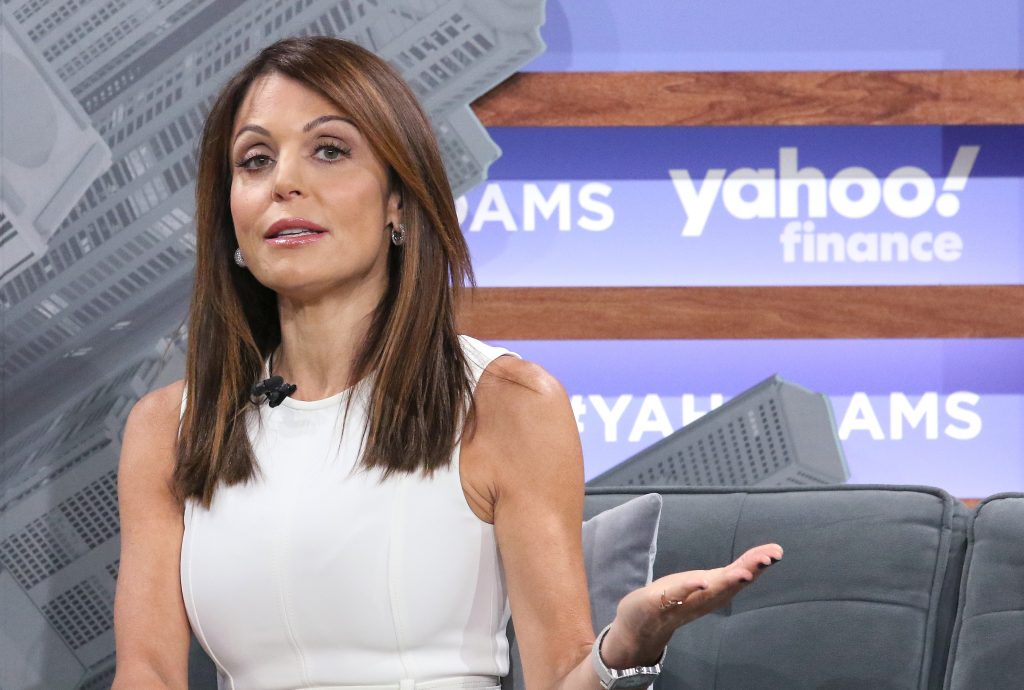 Bethenny Frankel attends the Yahoo Finance All Markets Summit at Union West Events